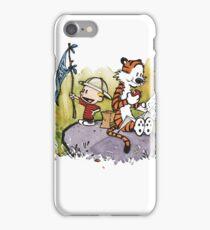 Calvin and Hobbes Adventure iPhone Case/Skin