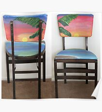 Folding Chairs IV Poster