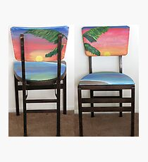 Folding Chairs IV Photographic Print