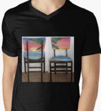 Folding Chairs IV Mens V-Neck T-Shirt