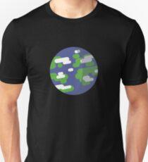 Cartoon Planet Earth T-Shirt