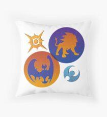Pokémon Sun & Pokémon Moon Throw Pillow