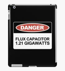 1.21 gigawatts?! iPad Case/Skin