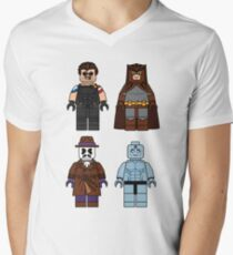 Lego Watchmen - Comics Minifigures Men's V-Neck T-Shirt