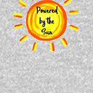 Powered by the Sun by HandDrawnTees