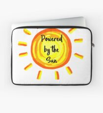 Powered by the Sun Laptop Sleeve