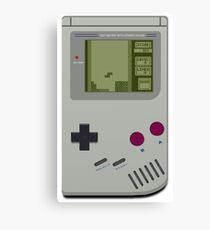 gameboy tetris Canvas Print