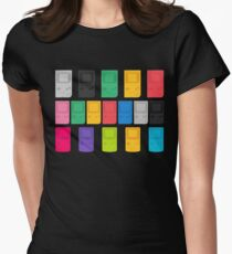 Colourful Gameboys (black) Womens Fitted T-Shirt