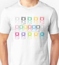 Outline Gameboys (white) Unisex T-Shirt