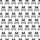 Panda Cross Bone - Pattern by Adam Santana