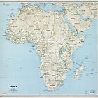 Map of Africa (1977) by allhistory