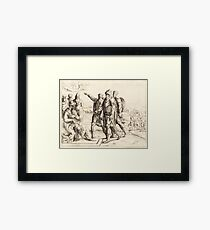 King Herod and the Three Wise Men Framed Print