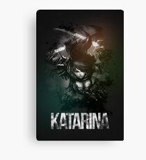 League of Legends KATARINA Canvas Print