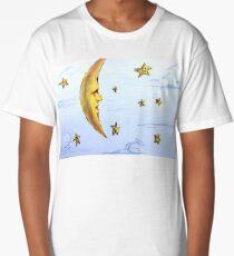 Moon and Stars  Long T-Shirt
