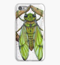 cicada for a day iPhone Case/Skin