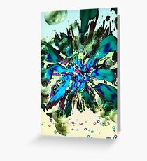 Blue Tuesday 1 Greeting Card