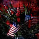 Patriotic Floral by Krista Droop