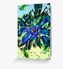 Blue Tuesday 2 Greeting Card