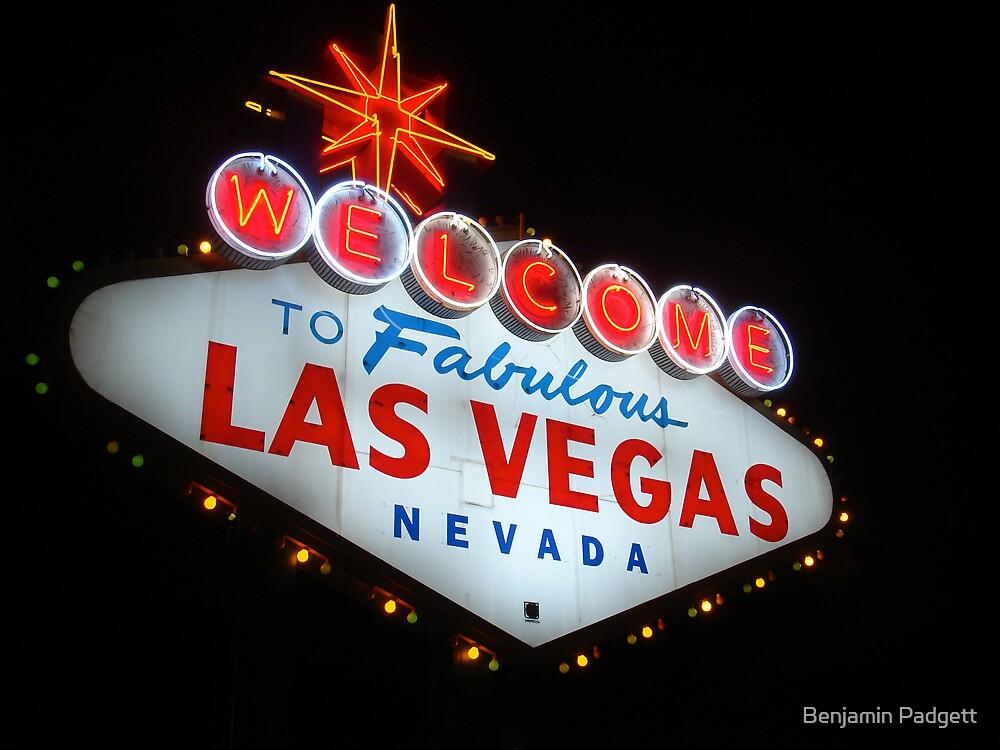 Vegas Sign No. 6 by Benjamin Padgett