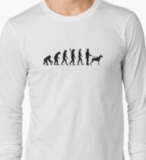 Evolution Doberman Long Sleeve T-Shirt