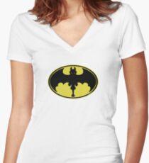 NaNaNa Toothless Women's Fitted V-Neck T-Shirt