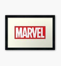 marvel Framed Print
