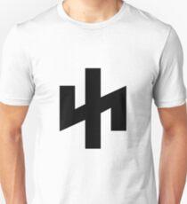 Wolfsangel Logo - Black Unisex T-Shirt