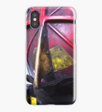 Fire Helmet Close up iPhone Case/Skin