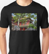 China. Beijing. The Forbidden City. In the Garden. T-Shirt