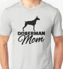 Doberman Mom Unisex T-Shirt