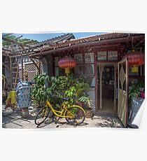 China. Beijing. Hutong. Local House. Poster