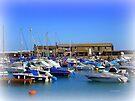 Lyme Regis Scene by Charmiene Maxwell-Batten