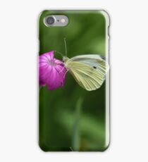 Hey there little one _ cabbage butterfly! iPhone Case/Skin
