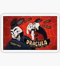 Dracula Bunny Sticker