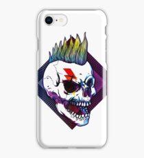 Retro Punk Skull iPhone Case/Skin