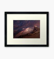 Sunset Over Haleakala Crater 3 Framed Print