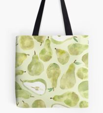 Puzzling Pears Repeat Pattern  Tote Bag