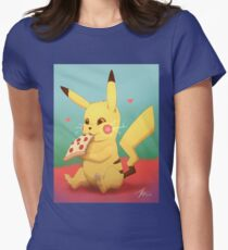 Pizzachu Womens Fitted T-Shirt