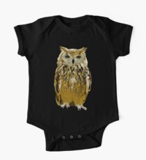 Multicolored Owl Kids Clothes
