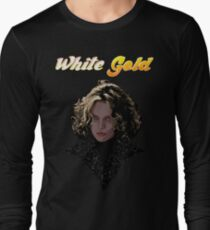 White Gold Long Sleeve T-Shirt