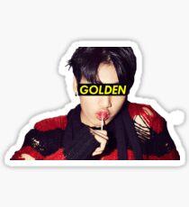 Golden Makbae Sticker