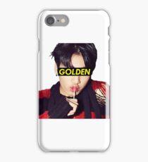 Golden Makbae iPhone Case/Skin
