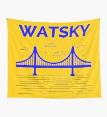 The Bay Bridge Smile Wall Tapestry