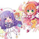Cardcaptor Sakura & Tomoyo by YenniChau