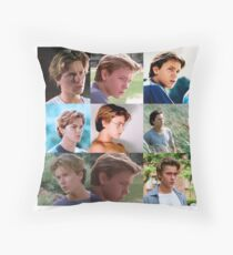 Danny Pope / River Phoenix Collage Throw Pillow