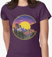 Colorado Sights Women's Fitted T-Shirt