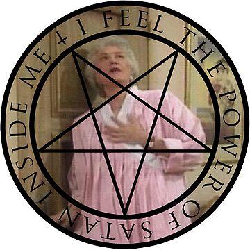 I Feel the Power of Satan Inside Me by echohazard
