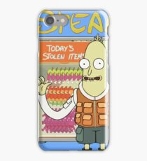 Stealy - Rick & Morty Design iPhone Case/Skin