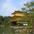 Kinkaku-ji, The Temple of the Golden Pavilion by Glen Sun