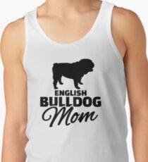 English Bulldog Mom Tank Top